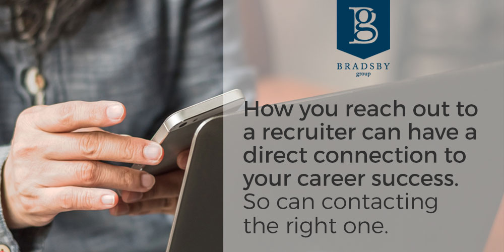 How to reach out to a recruiter