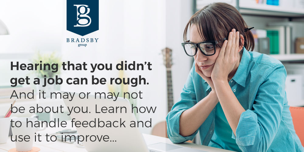 Why didn't I get the job - Hearing that you didn't get a job can be rough. And it may or may not be about you. Learn how to handle feedback and use it to improve...