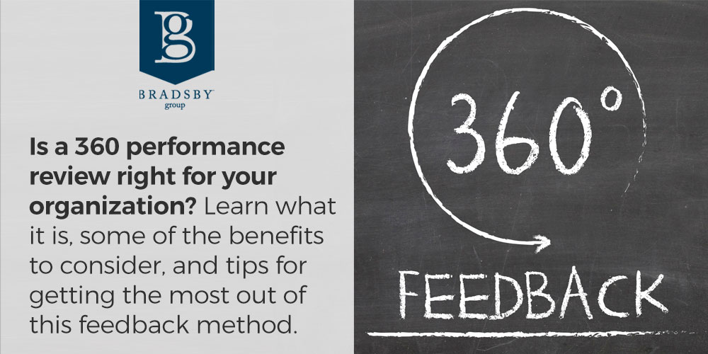Is a 360 performance review right for your organization? Learn what it is, some of the benefits to consider, and tips for getting the most out of this feedback method.